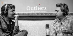 Rajan Anand, Google's vice-president for Southeast Asia and India, with Pankaj Mishra, CEO, FactorDaily, in Outliers